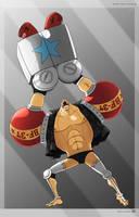 Cyborg Franky 2Y by dDsign