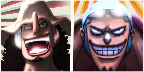 Usopp and Franky