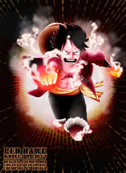 Monkey D. Luffy - Red Hawk