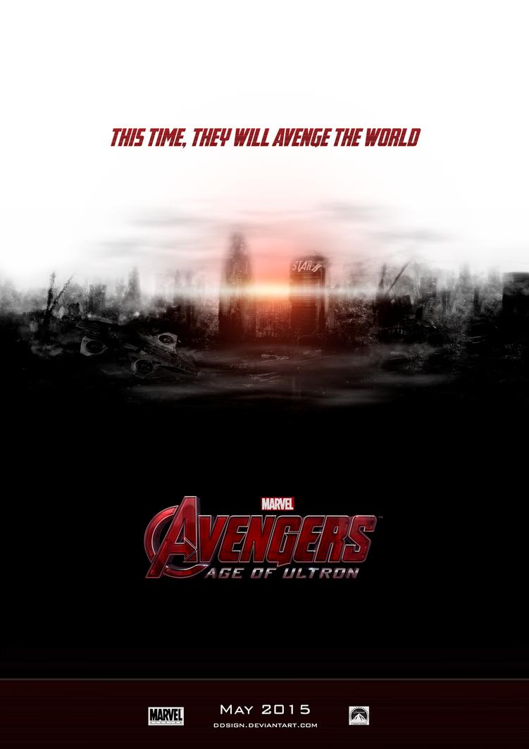 Avengers - Age of Ultron Fan Poster 2 by dDsign on DeviantArt