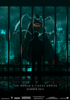 Superman/Batman - World's Finest - Poster (1.1) by dDsign