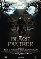 Black Panther Fan Movie Poster by dDsign