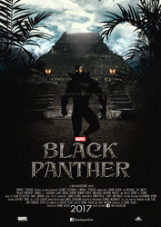 Black Panther Fan Movie Poster