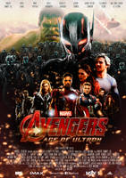 Avengers - Age of Ultron Movie-Poster (self-made) by dDsign