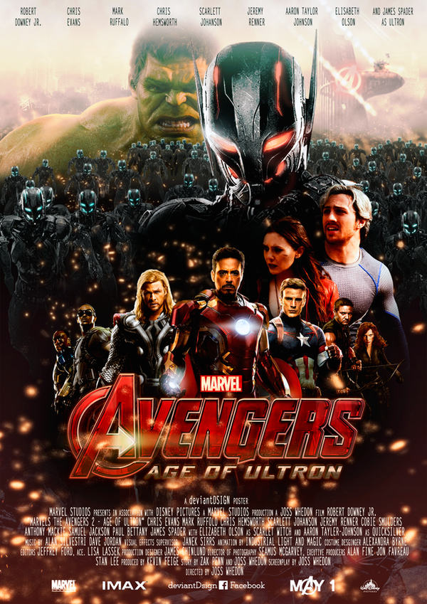Avengers - Age of Ultron Movie-Poster (self-made) by ...
