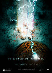 Power Rangers Teaser-Poster (self-made)