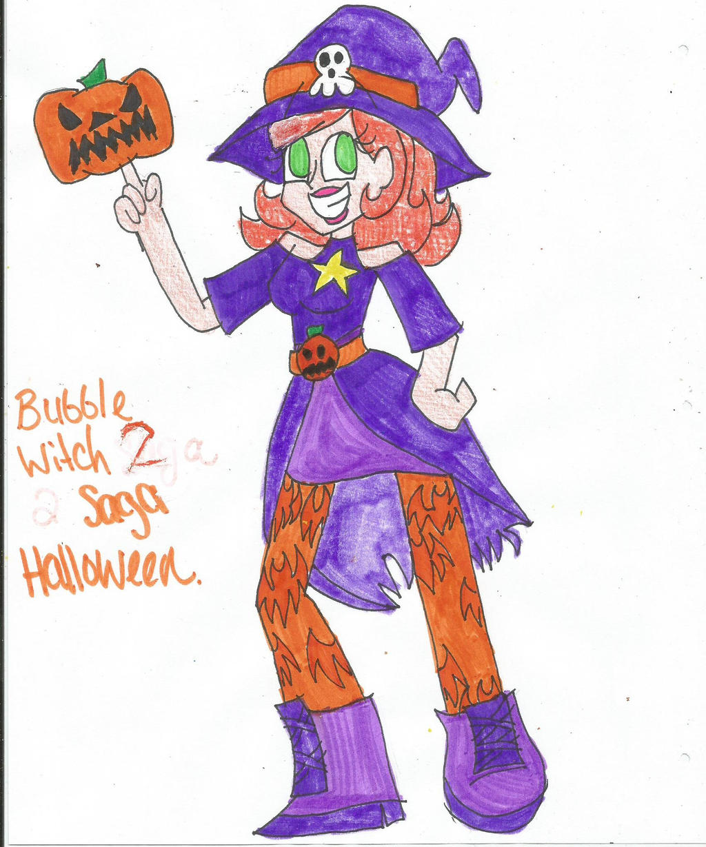 Bubble Witch 2 Saga: Halloween by xXFluffyPachirisuXx on DeviantArt