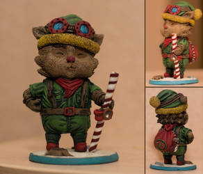 New year Teemo by HarmfulBear
