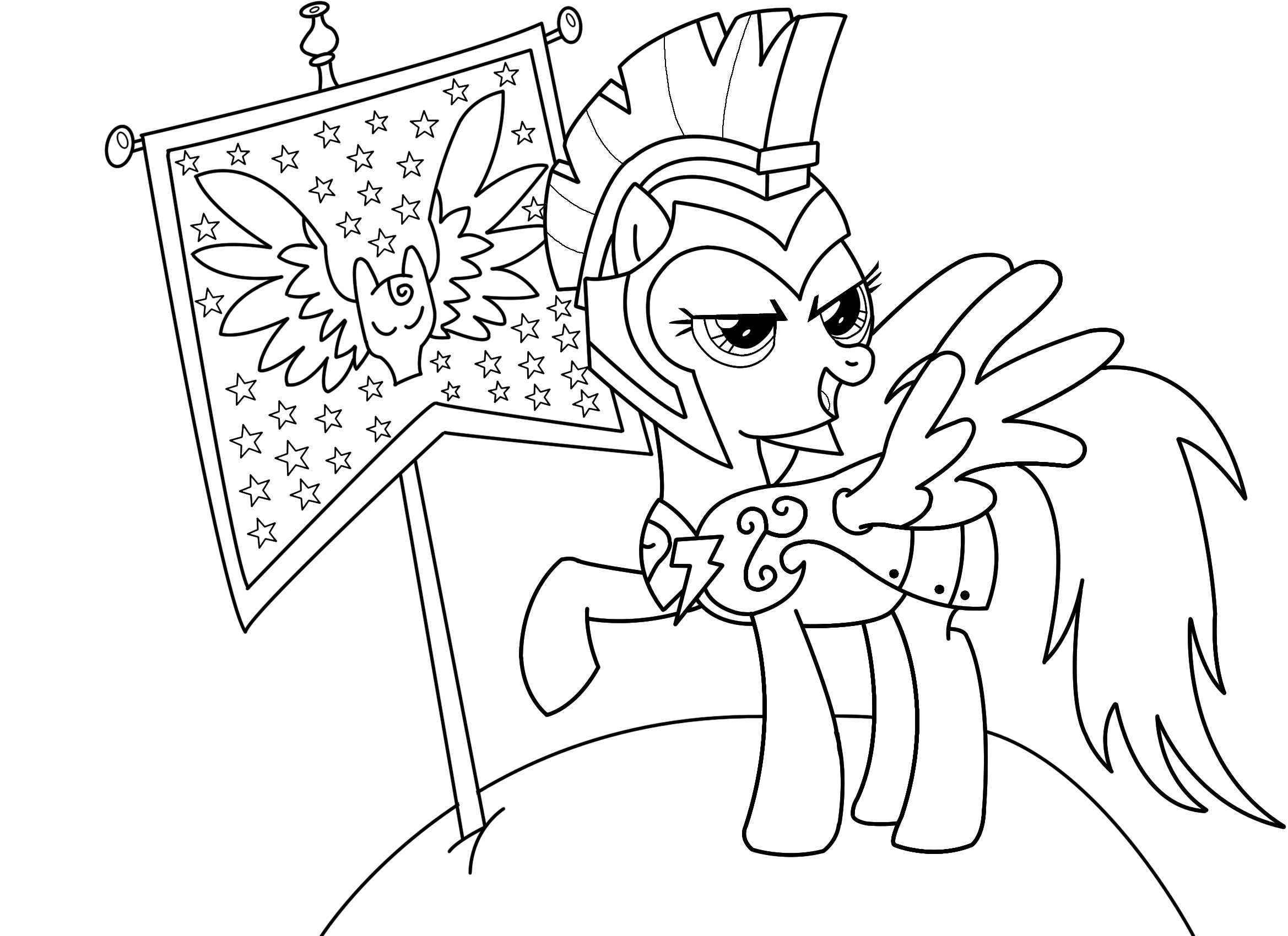 Line Drawing Rainbow : Rainbow dash commander hurricane line art by mento on
