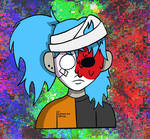 Glitched Sally Face
