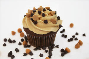 Chocolate PeanutButter Cupcake by FightTheAssimilation