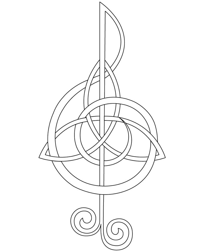 Treble Clef by FightTheAssimilation