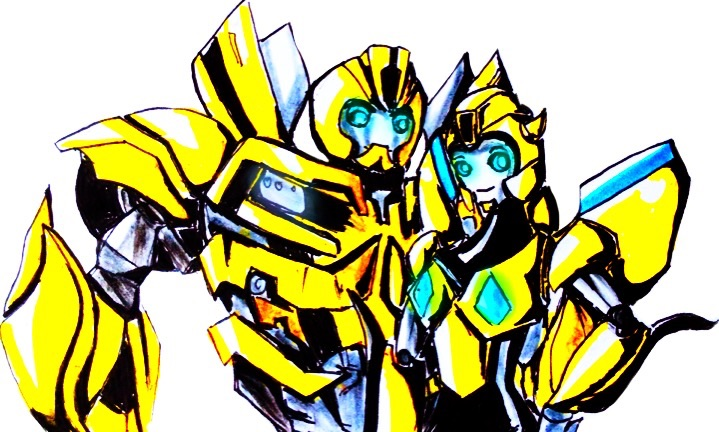 .:PC:. Beegirl and Bumblebee by Micelux