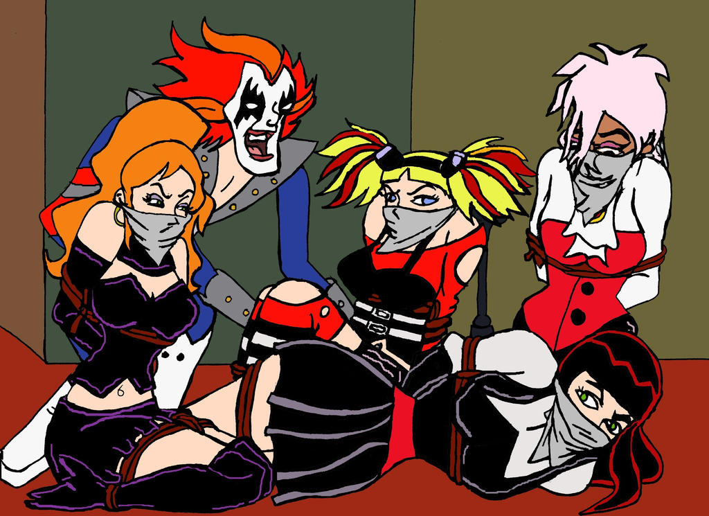 Hex Girls and Crush vs Diabolical Disc Demon  by Gogol500