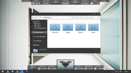 Current Desktop (MetroX)