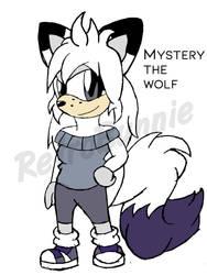 Mystery the Wolf Digital Drawing (2O18) by Retr0Bunnie