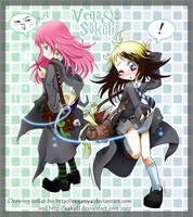 COLLAB Sakuli and me HP mode by VegaNya