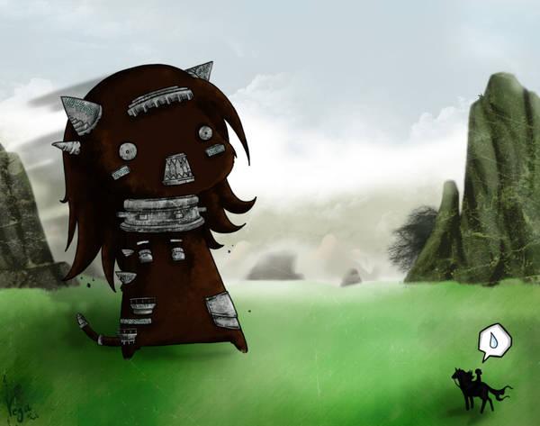 Shadow of the Vegossus by VegaNya