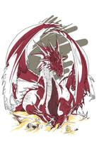 Red Dragon by VegaNya