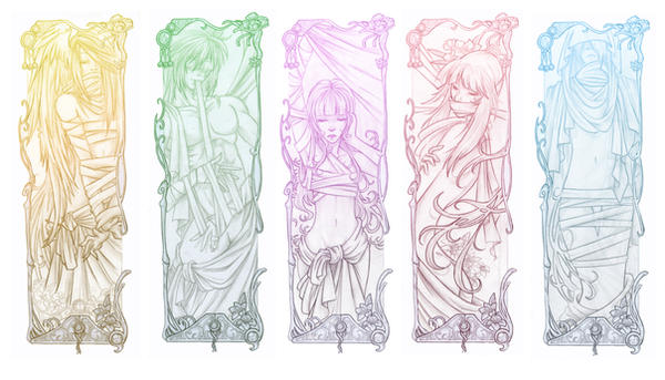 Bookmarks Completed by VegaNya