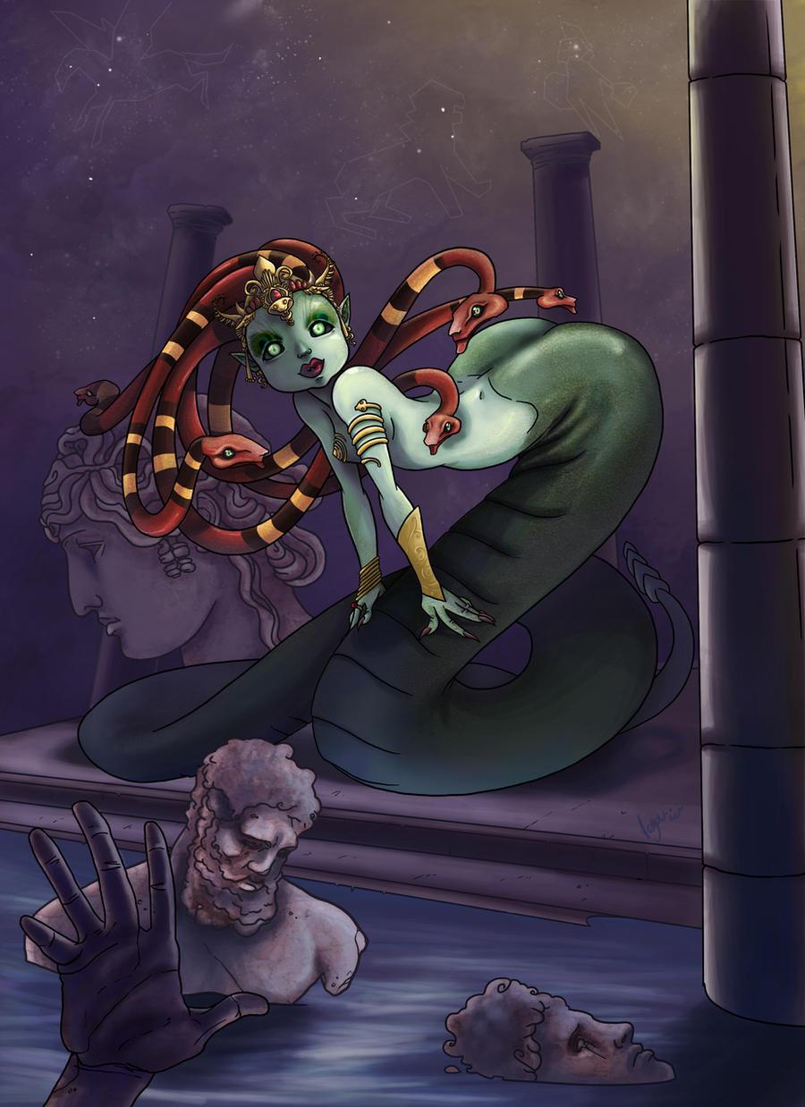 Medusa by VegaNya