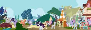 My Super fanart Pony by VegaNya