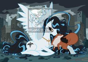 Comm: Pony Alexiel by VegaNya