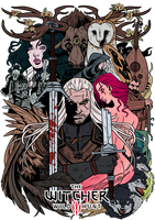 The Witcher3 by VegaNya