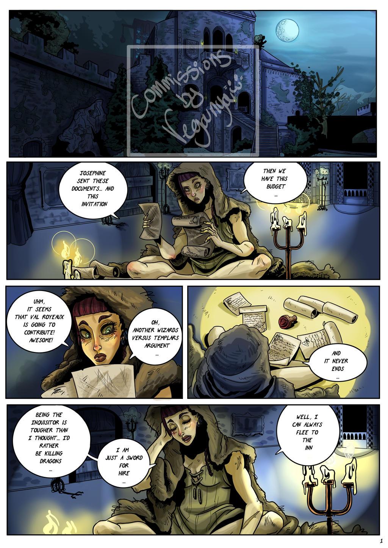 Dragon Age Inquisition Blackwalls romance Pag1 by VegaNya