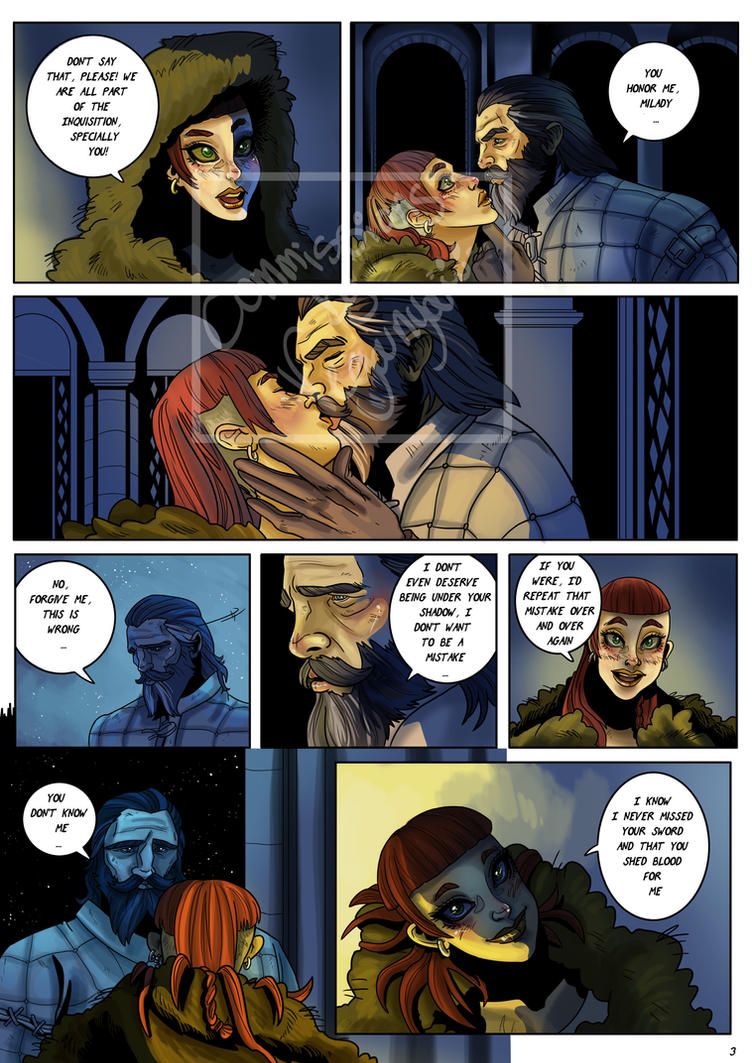 Dragon Age Inquisition Blackwalls romance Pag3 by VegaNya