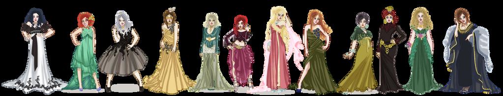 Lodge of Sorceresses by VegaNya