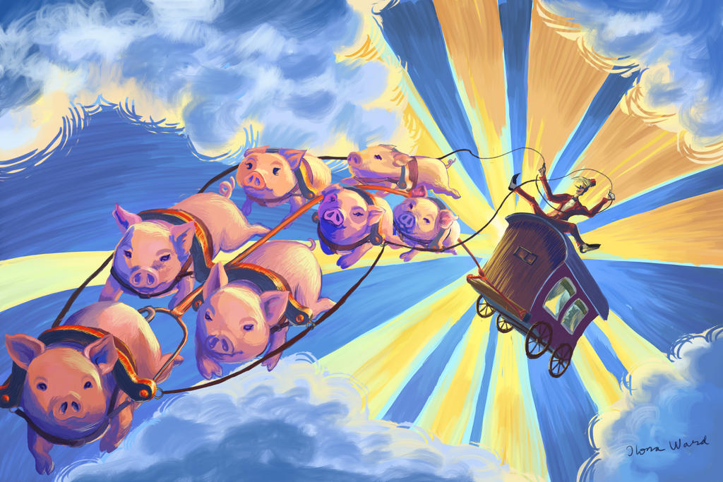 If Pigs Could Fly by Seeeks