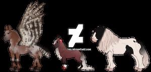 3 horse adopts - [2/3] OPEN