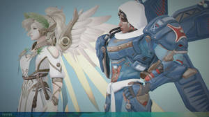 / Mercy and Pharah / by TheACRX