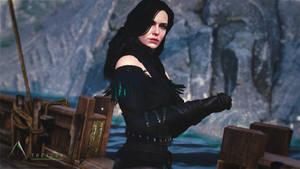 Yennefer - Raven Dress