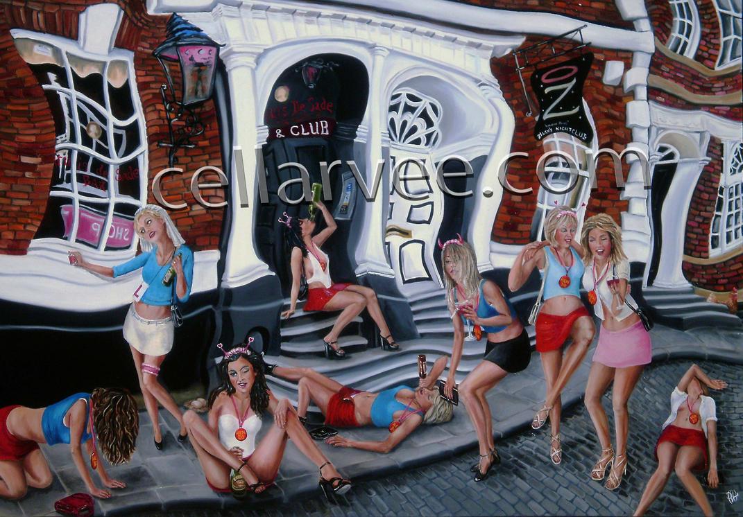 Hens by Cellarvee