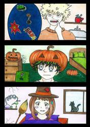 BNHA: Halloween by cassandra-san
