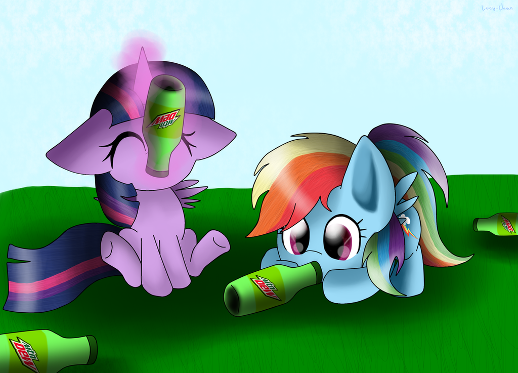 Twilight and RD Loves Mountain Dew by EnvyGirl95