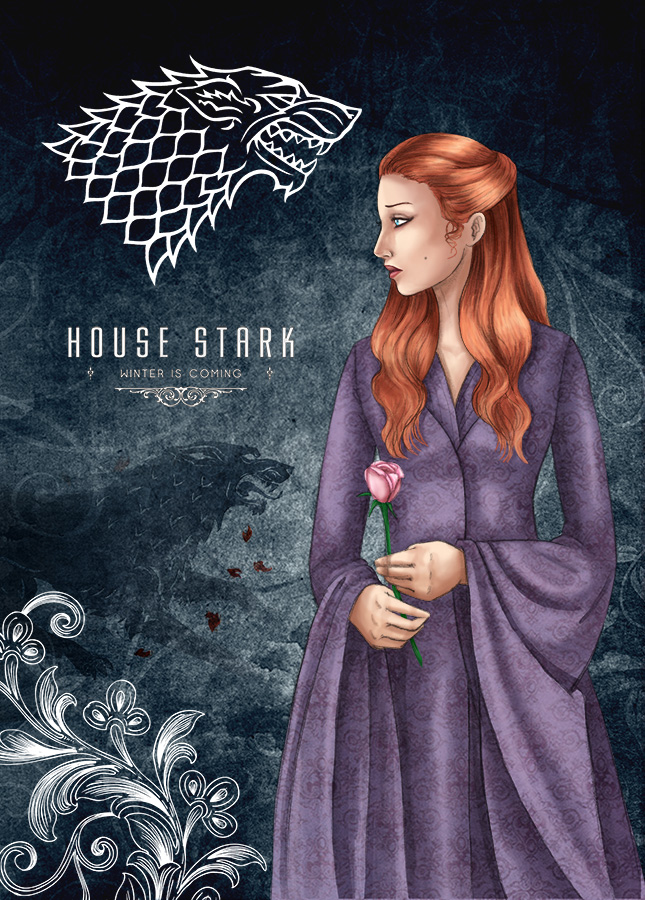 Sansa Stark By Chrysallis Dream On DeviantArt