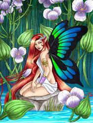 Water fairy by Chrysallis-Dream