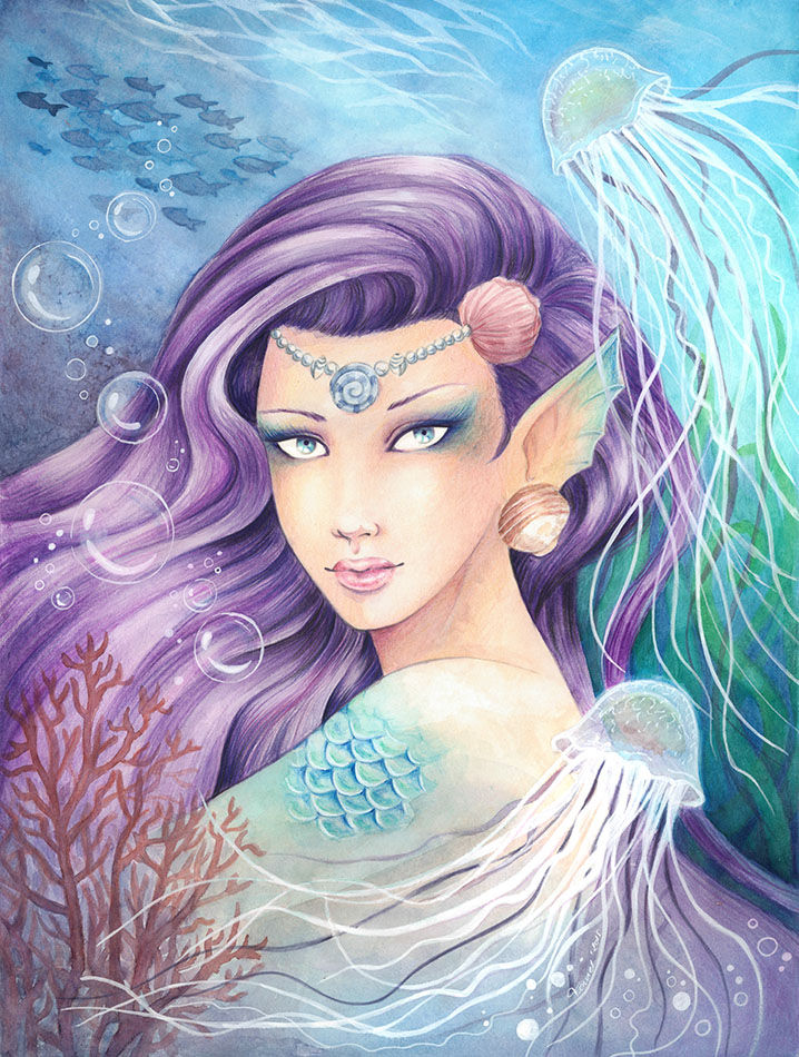 Spirit of the sea by Chrysallis-Dream