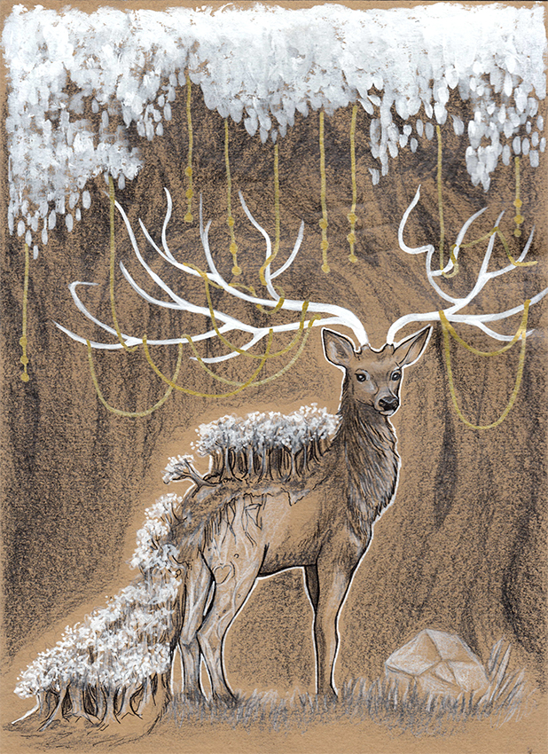 Spirit of the woods by chrysallis dream on deviantart - The hideout in the woods an artists dream ...