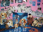All of the Lady and the tramp plushies