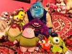 Monsters University Disney Store Plush Collection