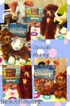 The Croods Bluray and DVD with Belt plush toy! :D
