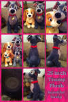 25 Inch Tramp Plush UK
