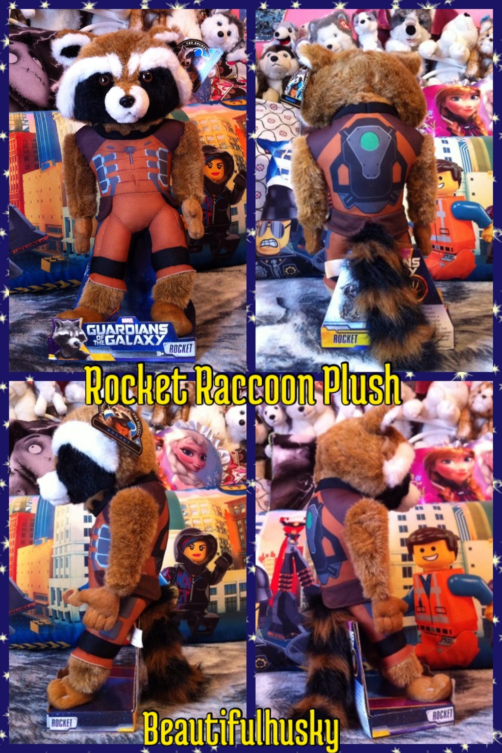 Disney Store Rocket Raccoon Plush