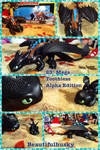Mega Toothless 23inch Figure Alpha Edition