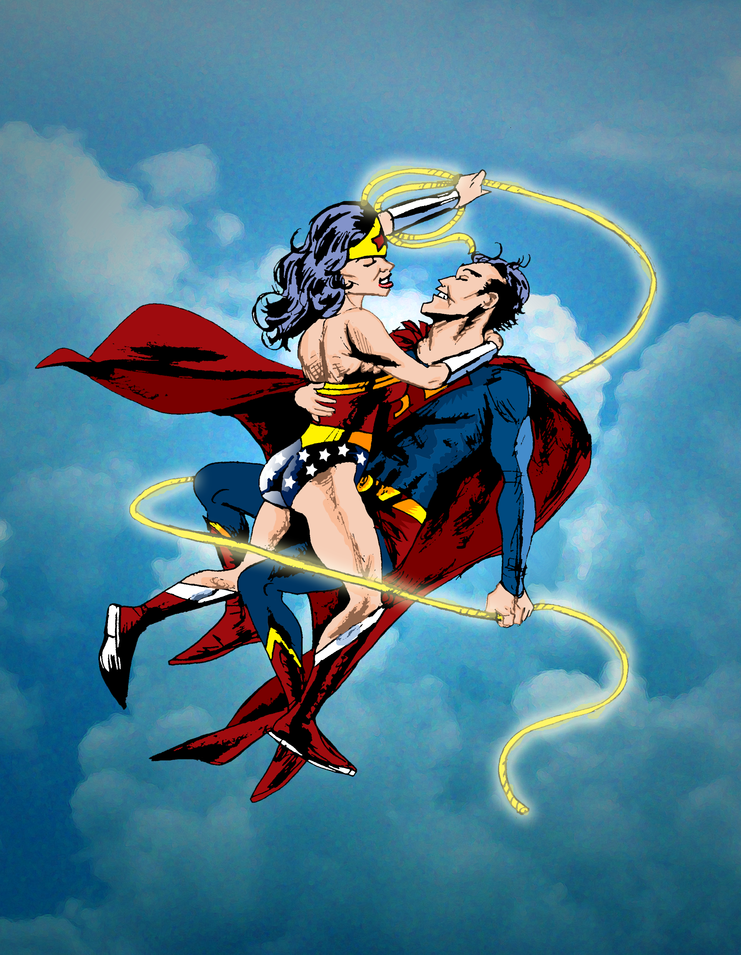 Wonder Woman And Superman by nailsin on DeviantArt