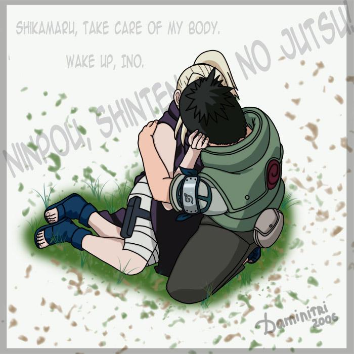 Sasuke Wakes Up By Uendy On Deviantart: Shikamaru And Ino By Daminitri On DeviantArt